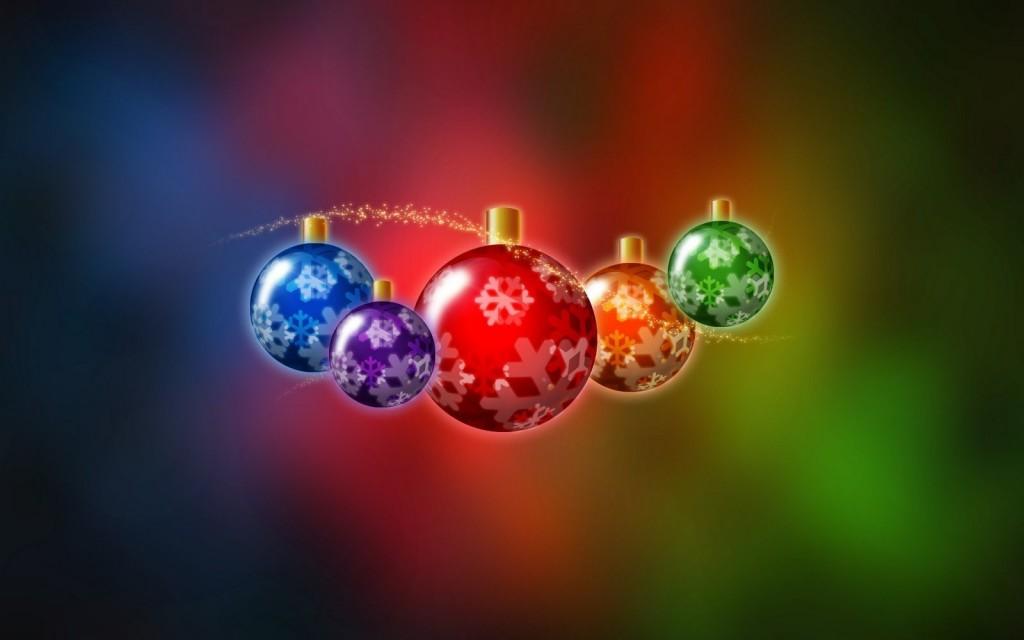 kerstballen gekleurd 2016