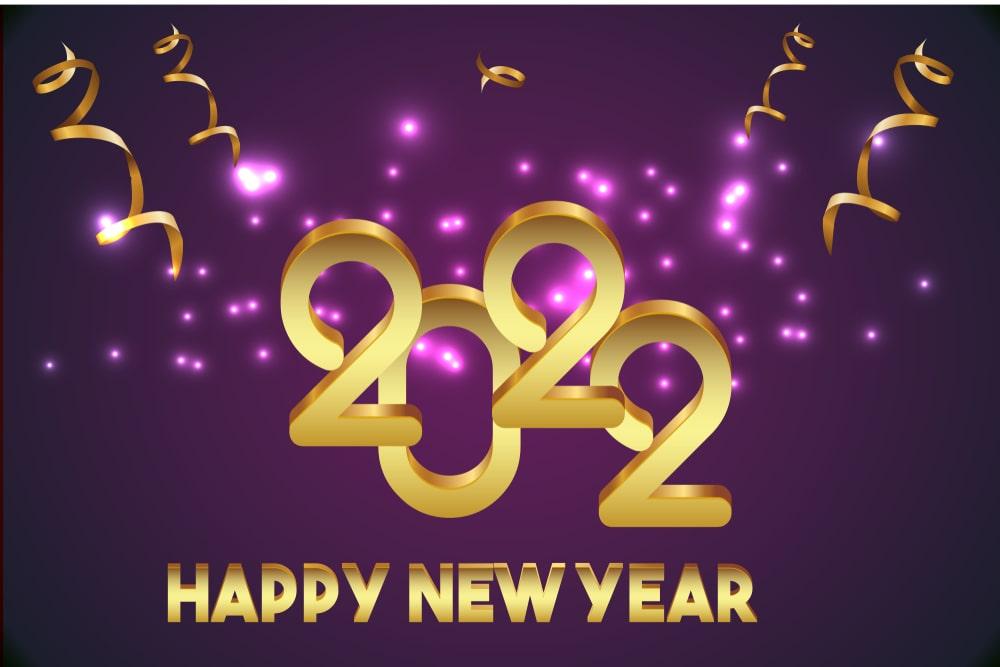 nieuwjaarswensen 2022 happy new year